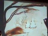 23.03.2012  Ежик в тумане. Песочные фантазии под музыку вибрафона А.Чижика